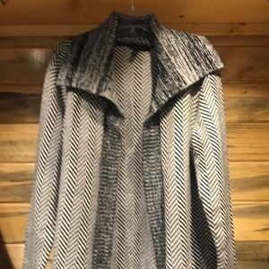 WHBM XL Open Front Sweater Jacket